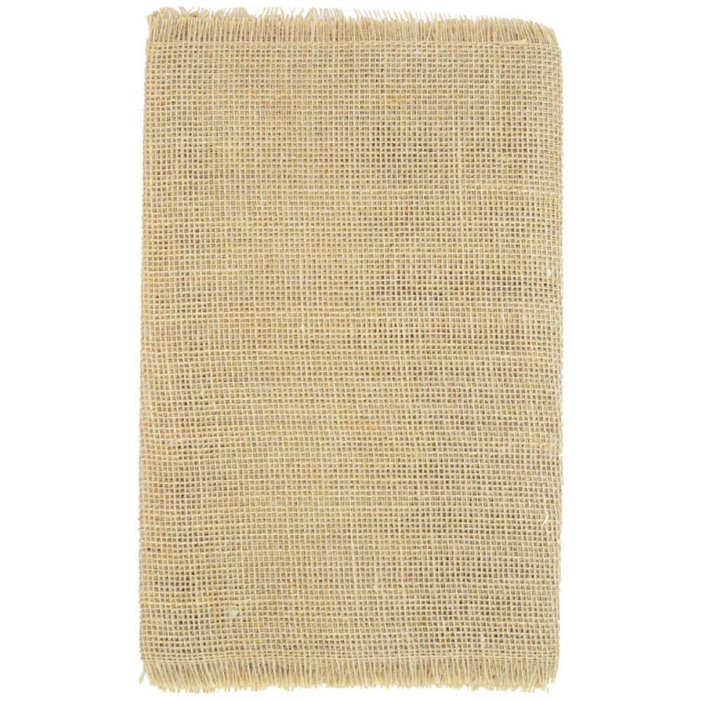 72 frayed edge burlap fabric table runner natural for What is burlap material
