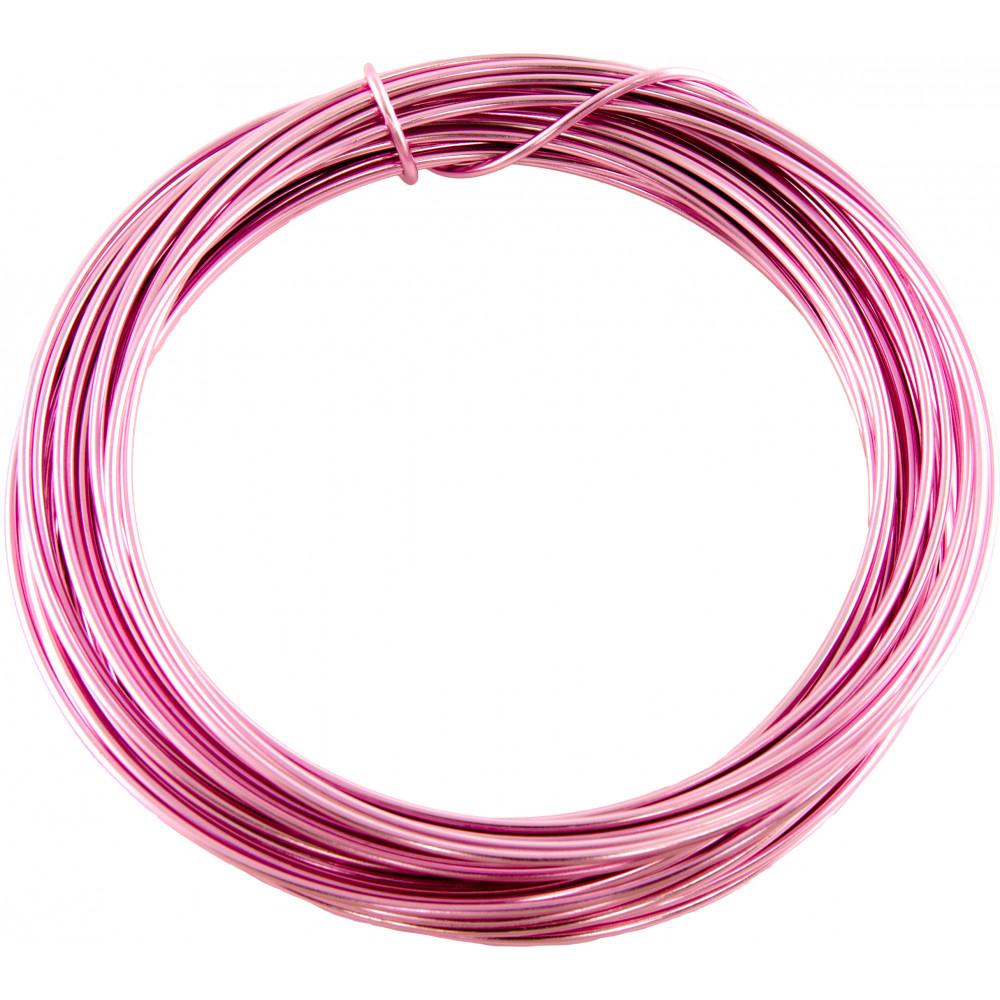 Aluminum Craft Wire 2MM: Pink (13 Yards) [MT103122] - CraftOutlet.com