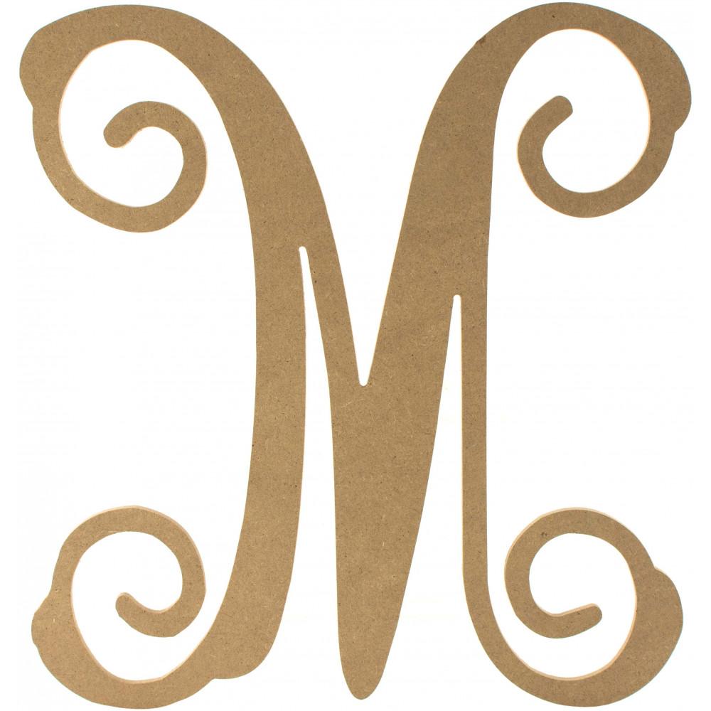 12 wood letter vine monogram m ab2208 craftoutlet 12 wood letter vine monogram m thecheapjerseys Image collections