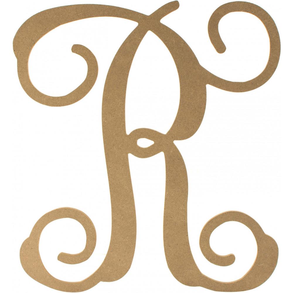 12 wood letter vine monogram r ab2213 craftoutlet 12 wood letter vine monogram r thecheapjerseys Image collections