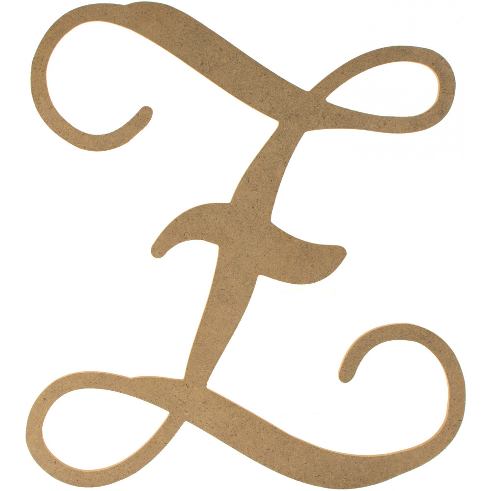 12 wood letter vine monogram z ab2221 for Monogram homes