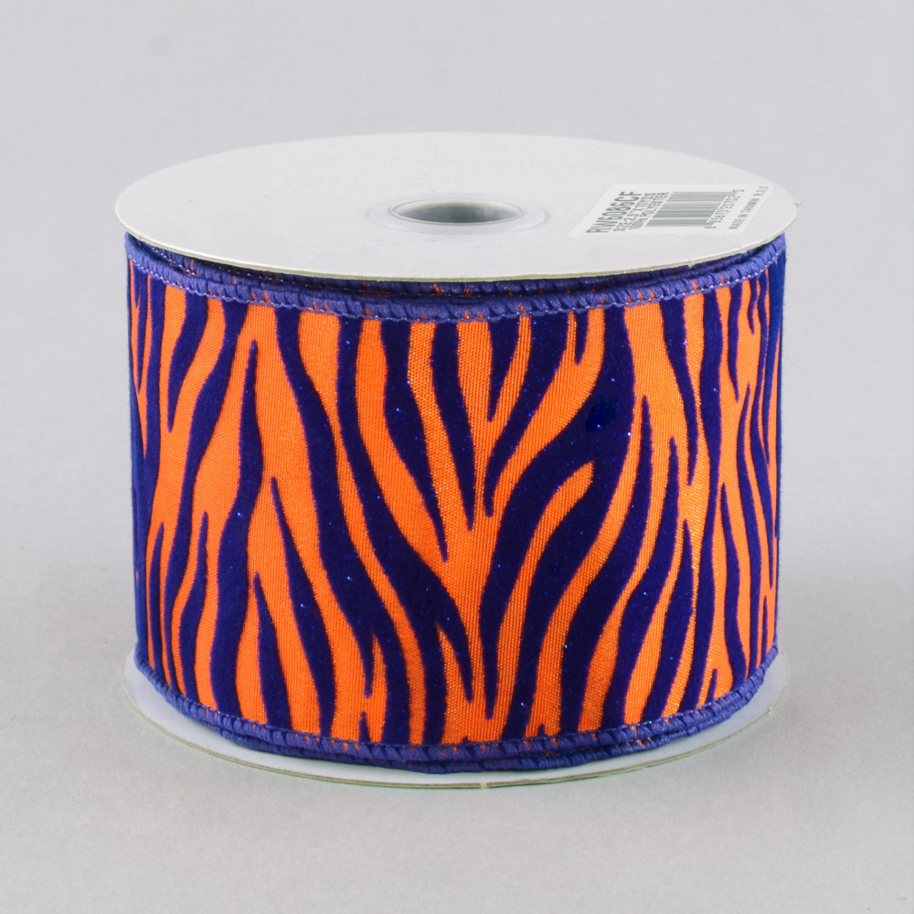 Tiger strip wired ribbon