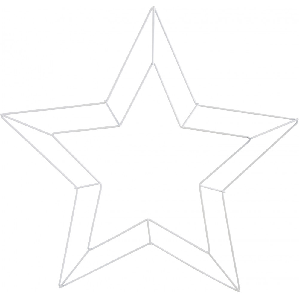 16 Star Wire Form