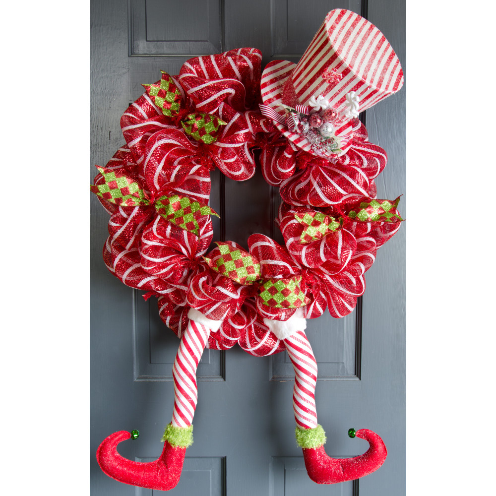 17 Elf Legs Peppermint Candy Cane Stripes 3516499 Craftoutlet