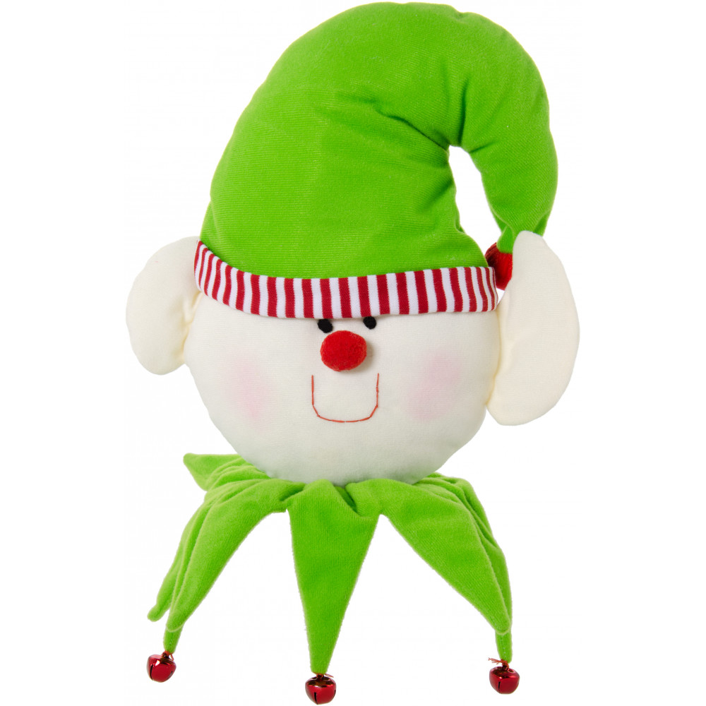 plush christmas elf face 9 by