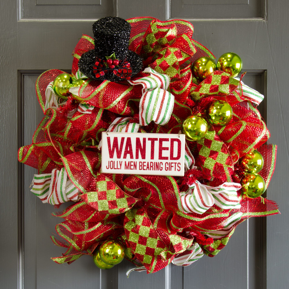 Quot black tinsel holiday top hat ornament