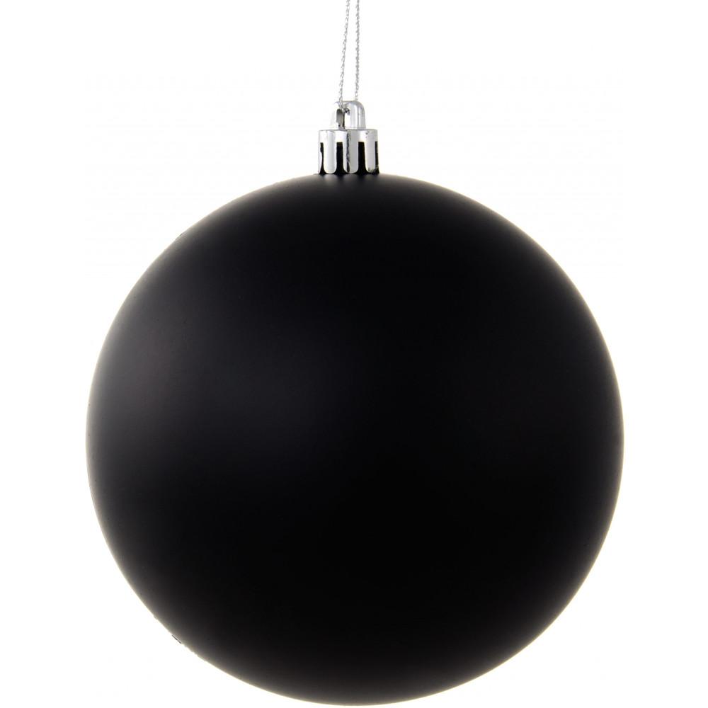 Plastic ornament - 4 5 Black Plastic Ball Ornament Chalkboard