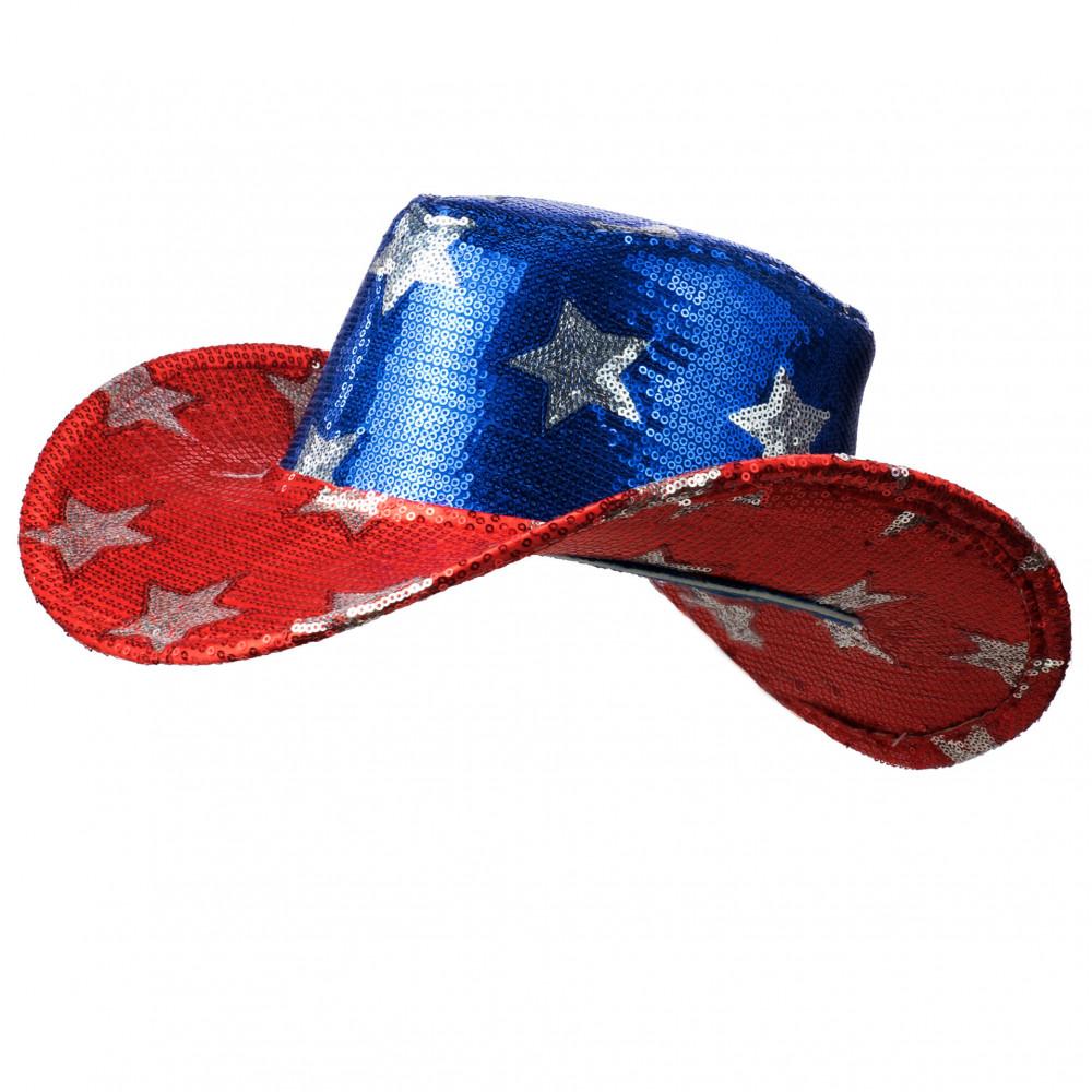Sequin Cowboy Hat  USA  28298USAO  - CraftOutlet.com ce562ef4186