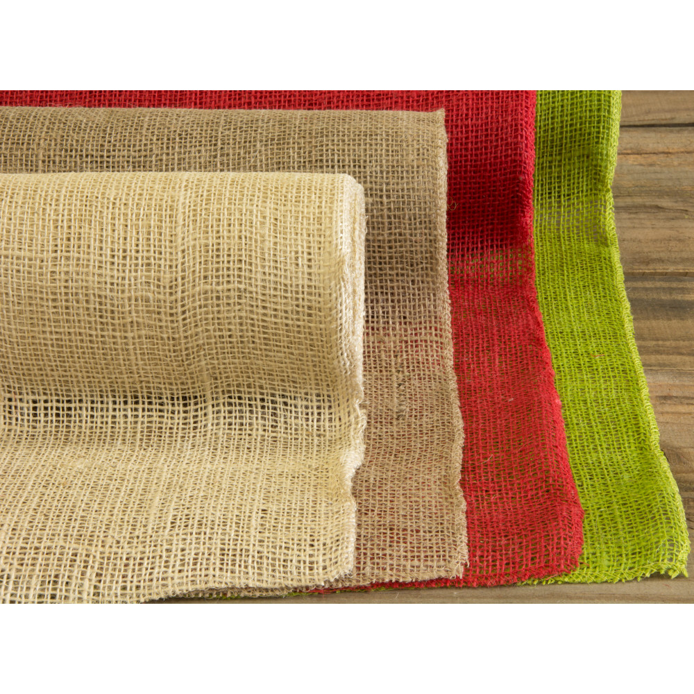 14 Quot Burlap Fabric Roll Natural 10 Yards Jrh14 12