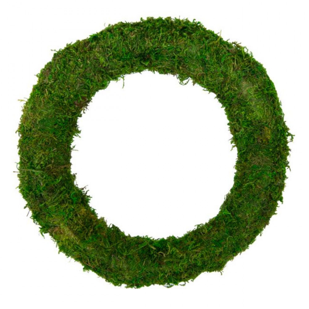 10 Quot Green Moss Wreath Kc1014 Craftoutlet Com
