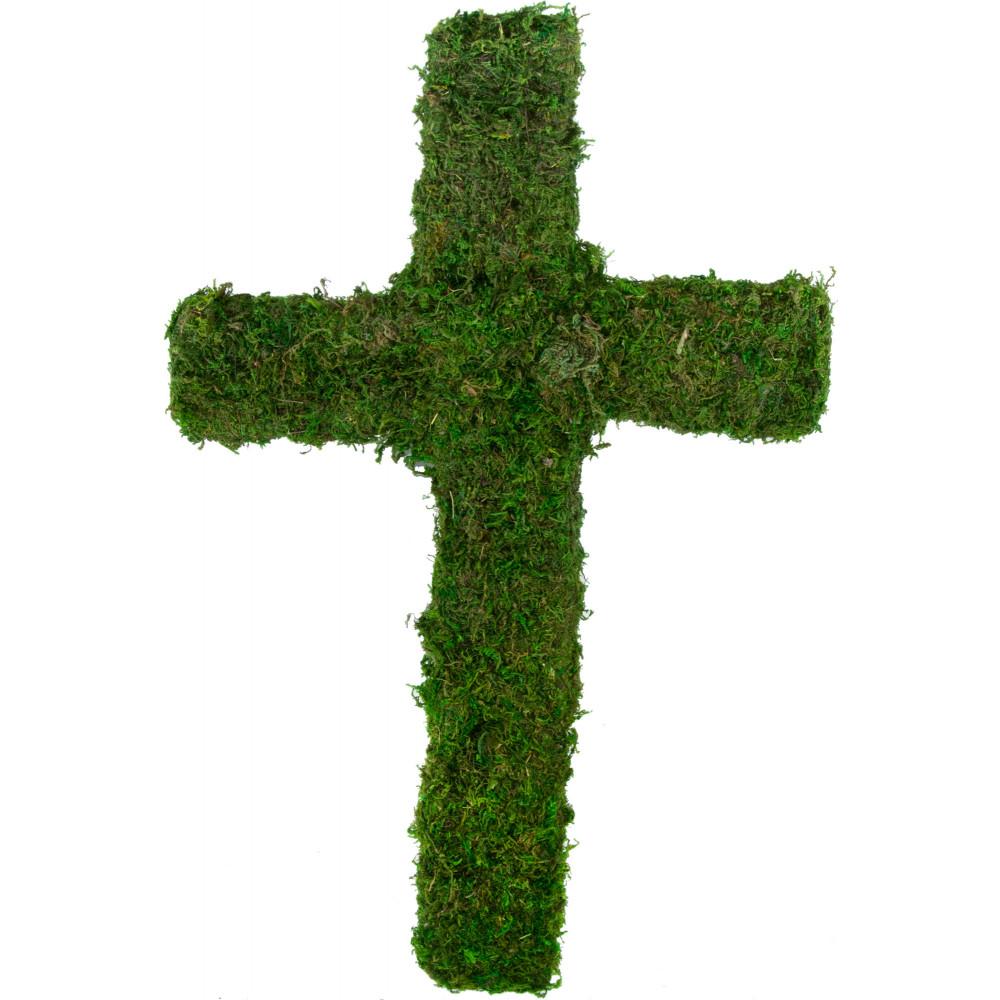 20 Green Moss Cross Kc1024 Craftoutlet