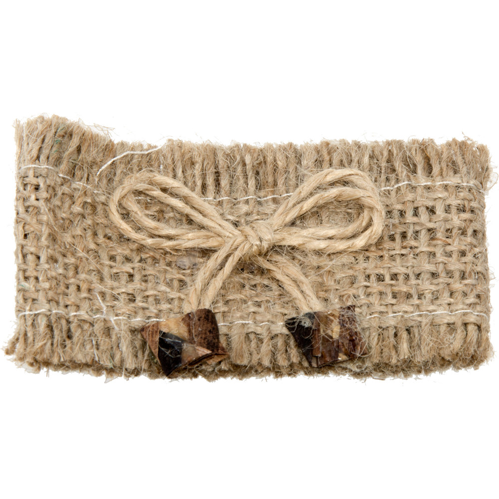 Burlap Napkin Rings With Jute Bow (Set of 12) [KCNR08E] - CraftOutlet ...