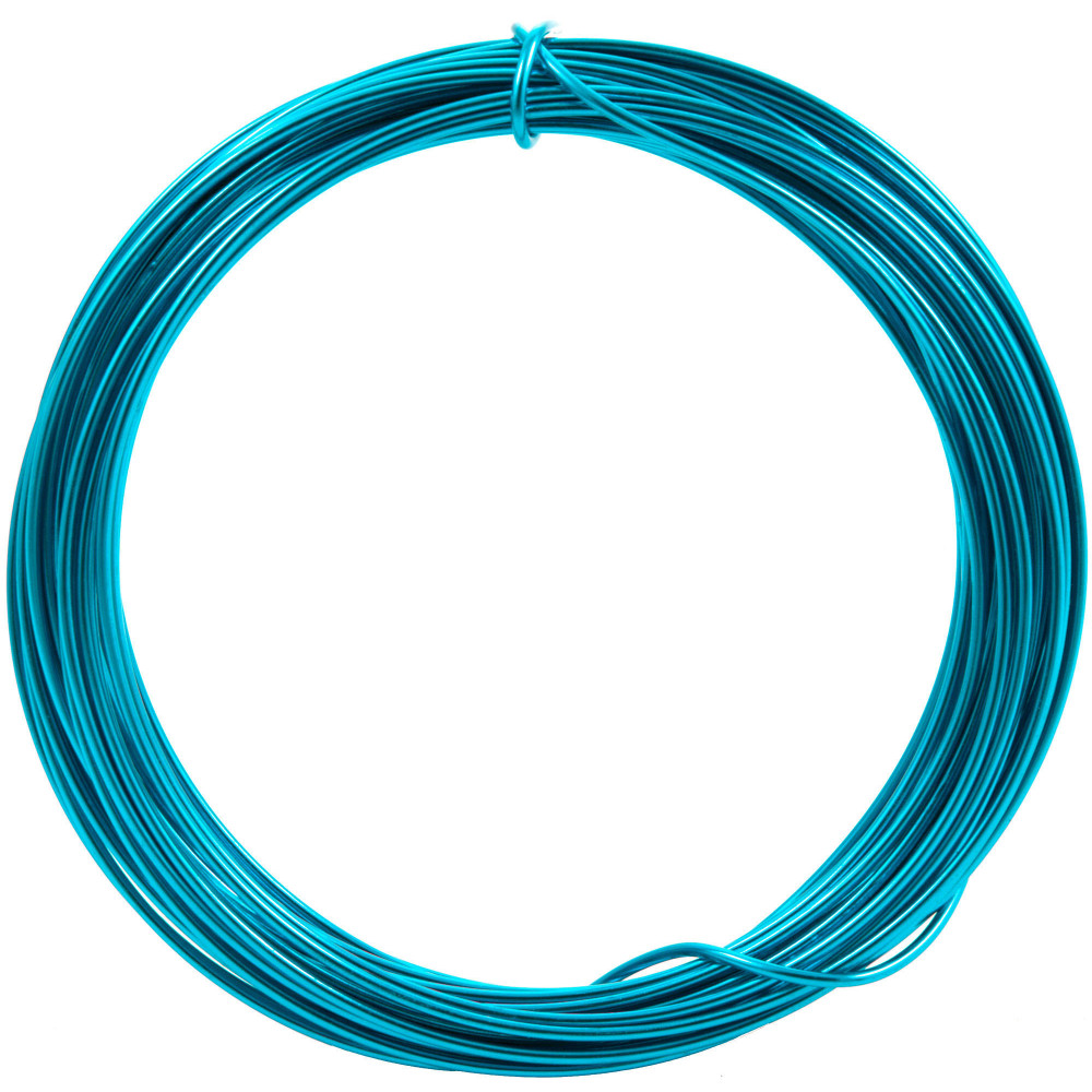 Aluminum Craft Wire 2MM: Turquoise (13 Yards) [MT103154 ...
