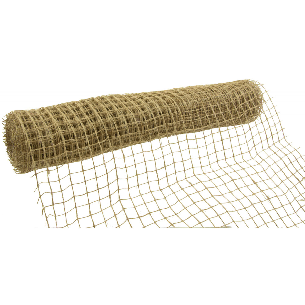 20 Quot Square Net Natural Jute Burlap Ribbon 10 Yards
