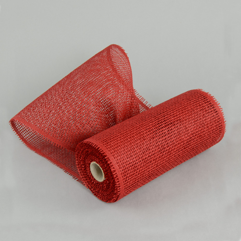 10 Quot Paper Mesh Roll Red 10 Yards Rr800124