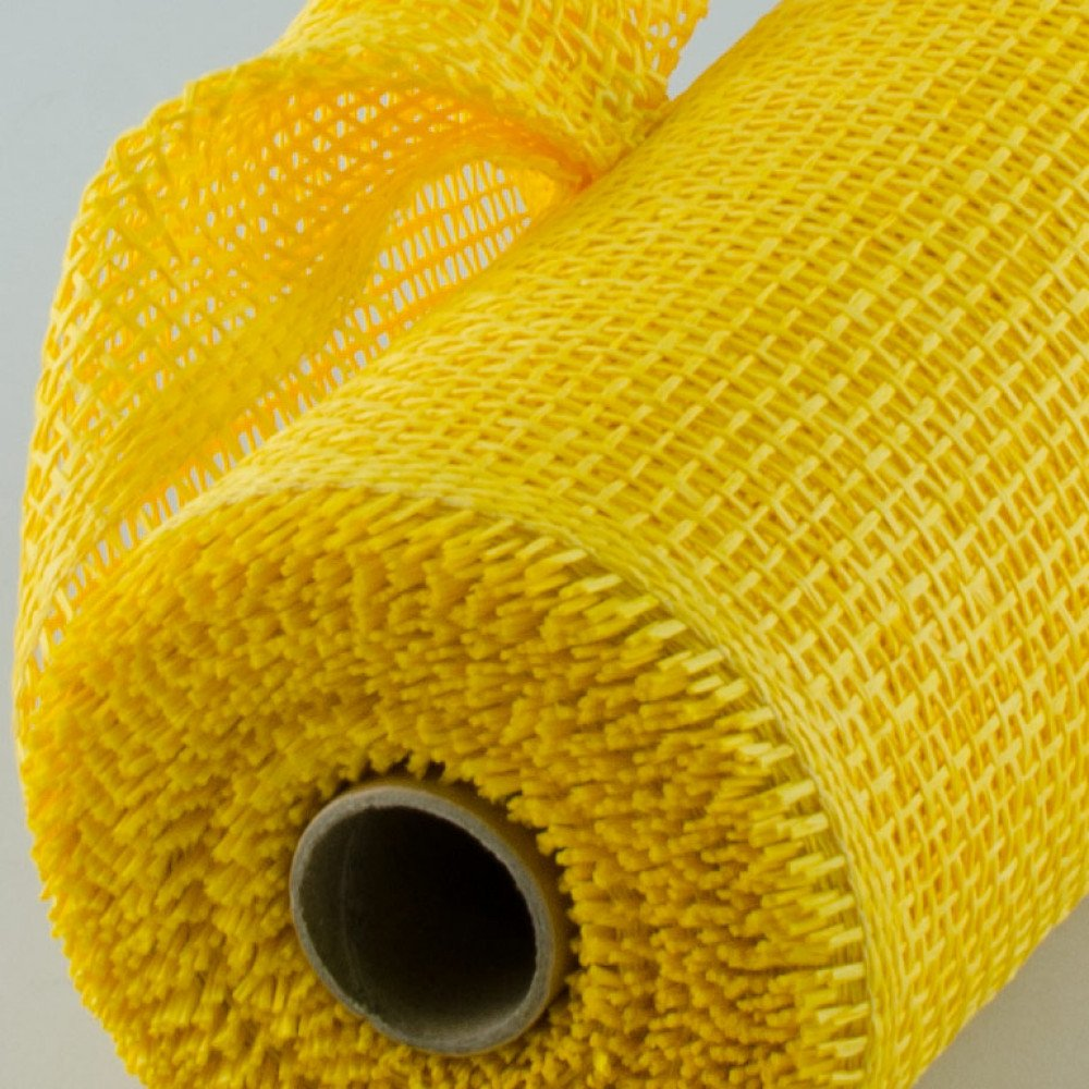 10 Quot Paper Mesh Roll Yellow 10 Yards Rr800129