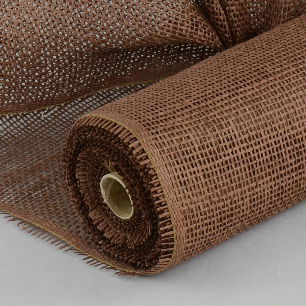 21 paper mesh roll brown 10 yards rr900131. Black Bedroom Furniture Sets. Home Design Ideas