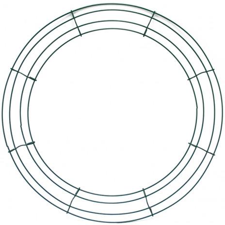 Box Wire Wreath Form: 16-inch Round