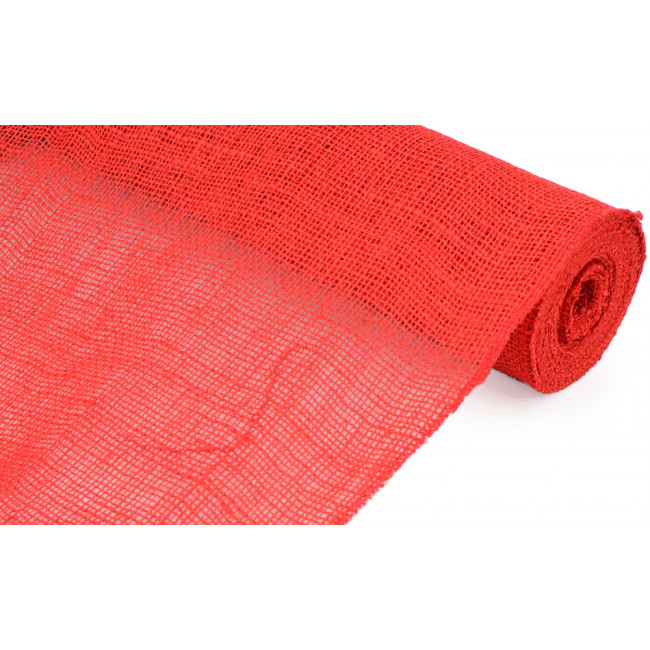 20 Quot Burlap Fabric Roll Red 10 Yards Jrh19 11