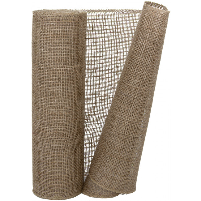 14 Quot Burlap Fabric Roll Natural 10 Yards Jrh14 12