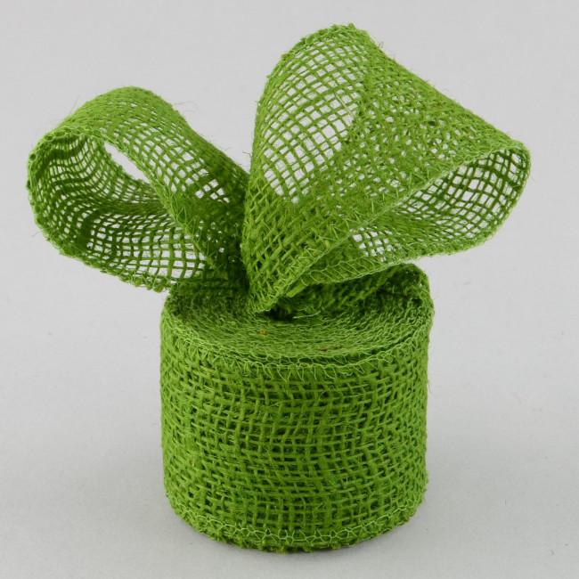 2 5 burlap ribbon olive green 10 yards jrh025 09 for Green burlap ribbon