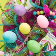 55MM Glitter Egg Pick (Set of 5): Pastel