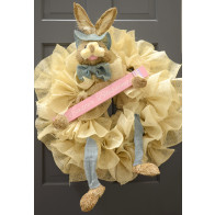 Bunny Wreath Accent Kit: Blue