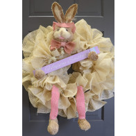 Bunny Wreath Accent Kit: Pink