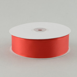 "1.5"" Taffeta Wired Ribbon: Red (50 Yards)"