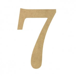 Decorative letters and numbers for Small wooden numbers craft
