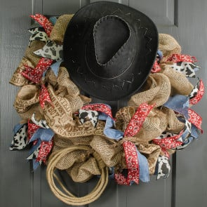 Wreath recipes for Tiny cowboy hats for crafts