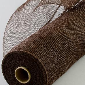 21 value deco mesh chocolate brown - Decorative Mesh