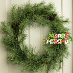 10 Cutout Ornament Merry Christmas