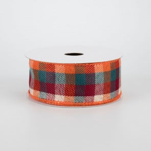 Fabric Ribbon: Check - CraftOutlet com