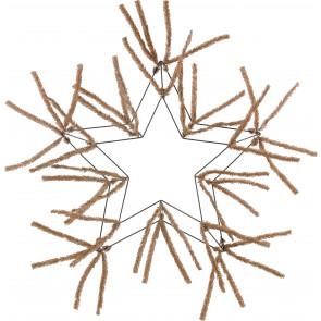 "16"" Star Work Form: Burlap Color"