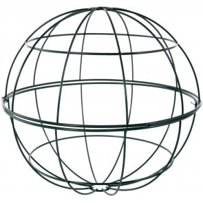 10 Two Piece Metal Wire Ball Form
