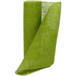 "14"" Burlap Fabric Roll: Apple Green (10 Yards)"