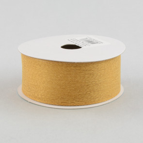 Classic Faux Jute Ribbon: Golden Wheat