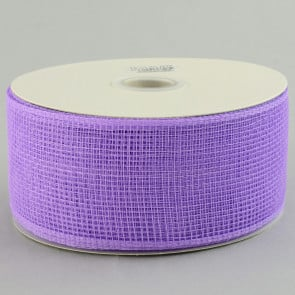"2.5"" Poly Deco Mesh Ribbon: Lavender"