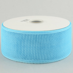 "2.5"" Poly Deco Mesh Ribbon: Turquoise"