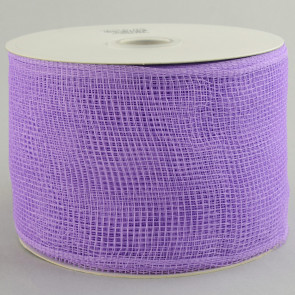 "4"" Poly Deco Mesh Ribbon: Lavender"