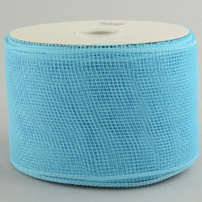 "4"" Poly Deco Mesh Ribbon: Turquoise"