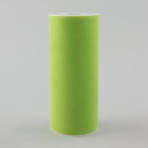 "6"" Apple Green Tulle Ribbon (25 Yards)"