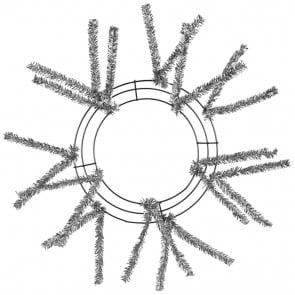 10-inch Silver Work Wreath Form