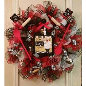 Kiss The Cook Wreath