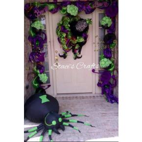 Door Scape for Halloween!