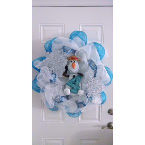 Disney's Frozen Olaf wreath