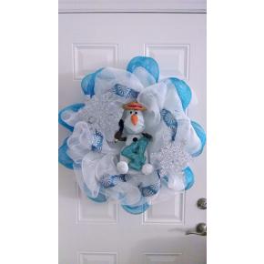 Disney's Frozen Olaf wreath