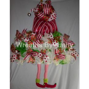 Elf Hat Wreath