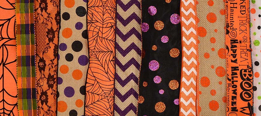 Halloween & Fall Ribbon